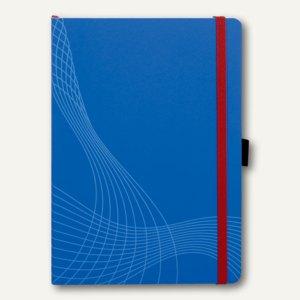 """Zweckform Notizbuch """"Notizio"""", DIN A5, kariert, Softcover, blau, 80 Blatt, 7041"""