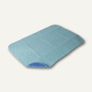 """Papstar Krankenunterlagen """"Profi Care"""", 90x60cm, waschbar, hellblau, 10St.,82018"""