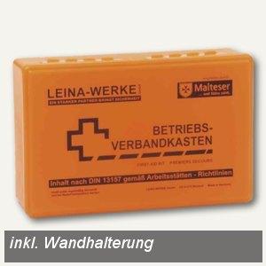 Leina -Werke Betriebs-Verbandkasten DIN 13157, inkl. Wandhalterung, REF 20003