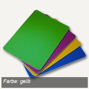 Alco Arbeits-& Bastelunterlage, abwaschbar, rutschfest, 21 x 30 cm, gelb,5530-13