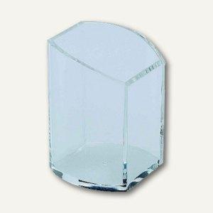 Alco Acryl-Stifteköcher, 7 x 7.5 x 10 cm, glasklar, 4464