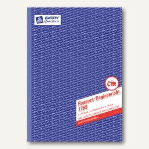 Formular Rapport/Regiebericht DIN A4