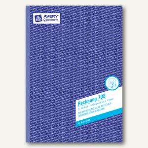 Zweckform Formular Rechnung DIN A4, 2 x 50 Blatt, 708
