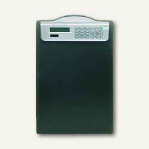 officio Klemmbrett, DIN A4, Solarrechner, schwarz, 12er-Pack, 5518-11