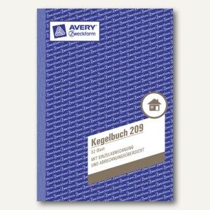 Formular Kegelbuch DIN A5