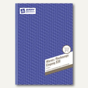 Artikelbild: Waren-/Rechnungseingangsbuch