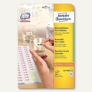 Artikelbild: Etiketten für alle Drucker