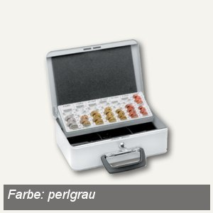 Inkiess Geldkassette PERFECT EU 70, perlgrau, 50070051218499