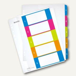 Artikelbild: Zahlen Kunststoff-Register WOW