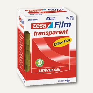 Klebefilm transparent