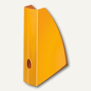 LEITZ Stehsammler WOW, DIN A4, orange-metallic, 5277-10-44