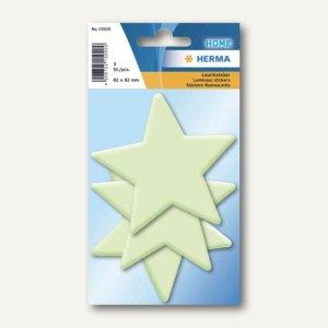 Herma Leuchtsticker, Sterne groß, Kunststoff, 30 Stück, 15020