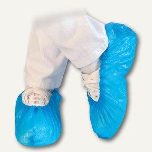 "Franz Mensch CPE-Überschuhe ""STANDARD"", wasserdicht, 41 cm, blau, 100 Stück,2850"