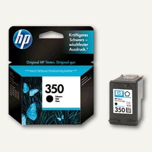 HP Tintenpatrone Nr.350, 4,5 ml, schwarz, CB335EE