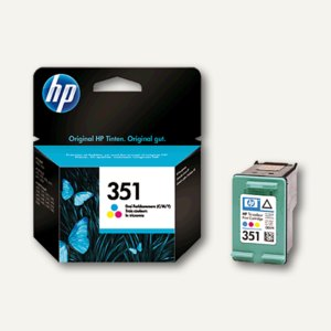 HP Tintenpatrone Nr.351, 3,5 ml, color, CB337EE