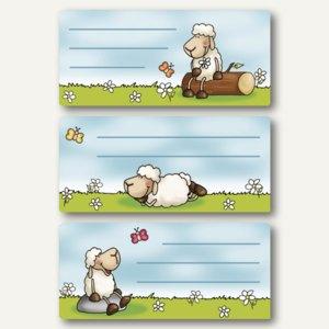 Buchetiketten Schafe