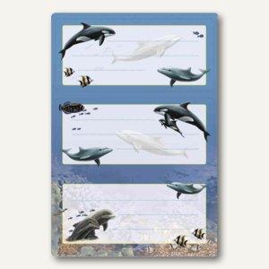 Artikelbild: Buchetiketten Vario Delfine