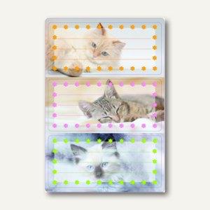 Artikelbild: Buchetiketten Vario Katzen