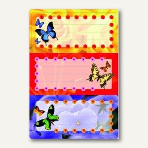 Buchetiketten Vario Schmetterlinge