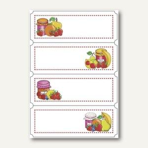 Artikelbild: Küchenetiketten Fruchtauswahl