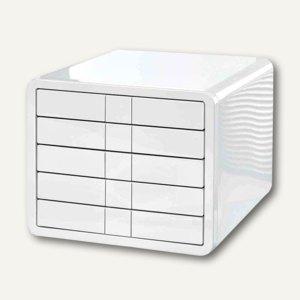 HAN Schubladenbox i-Box, A4-C4, 5 Schübe, weiß, 1551-12