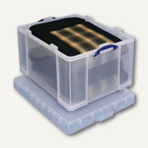 Aufbewahrungsbox 145 Liter, 710 x 545 x 400 mm, PP, transparent, 145C