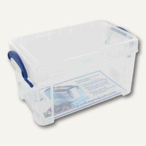 Aufbewahrungsbox 2.1 Liter, 240 x 130 x 125 mm, transparent, 2.1C