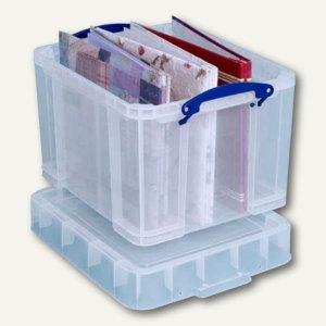 Aufbewahrungsbox 35 Liter, LP-Box, 370 x 330 x 310 mm, transparent, 35CXL