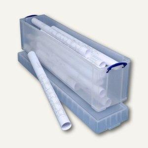 Aufbewahrungsbox 77 Liter, 1.200 x 270 x 355 mm, PP, transparent, 77C