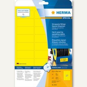 "Signal-Etiketten ""SPECIAL"", 63.5 x 29.6 mm, wetterfest, Rand, gelb, 675 St., 803"