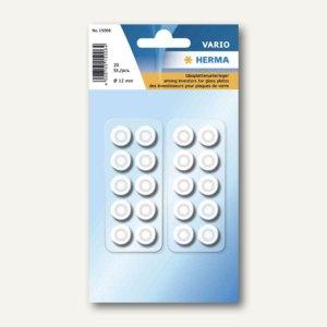Herma Lärm-/Rutschstopper, rund, Durchmesser 12 mm, transparent, 200St., 15006