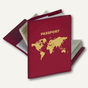 Herma RFID-Schutzhülle für Reisepässe, 197 x 136 mm, rot, 5549