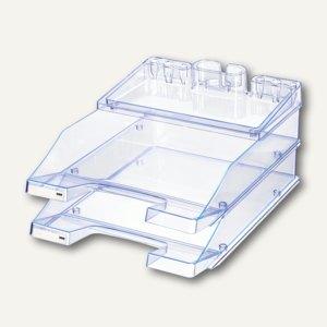 Briefablagen und Utensilienständer Pro Set, lichtblau, 3 Sets a 2 St., 10279-73