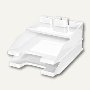 HAN Briefablagen und Utensilienständer Pro Set, weiß, 3 Sets, 10279-12