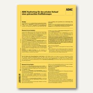 ADAC-Kaufvertrag f. Privat-Verkauf v. Kraftfahrzeugen