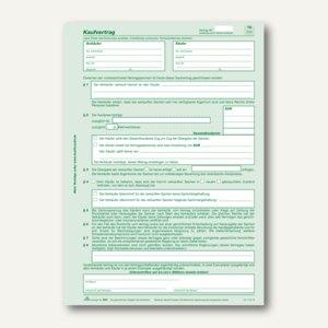 RNK Universal-Kaufvertrag, selbstdurchschreibend, DIN A4, 100St., 584