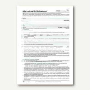 Wohnungsmietvertrag Berliner Fassung