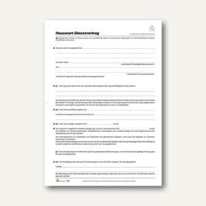 Artikelbild: Hauswart-Dienstvertrag