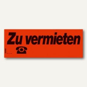 """RNK Plakatheft """"Zu vermieten"""", 530 x 190 mm, Block mit 10 Blatt, 1494"""