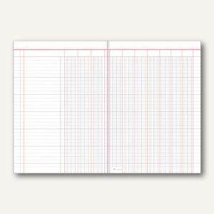 Spaltenbogen, DIN A3/A4, 10 Geldspalten, 2 Seiten, 50 Stück, 5310