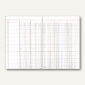 RNK Spaltenbogen, DIN A3/A4, 16 Geldspalten, 2 Seiten, 50 Stück, 5316