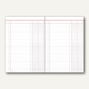 Spaltenbogen, DIN A3/A4, 2 Geldspalten, 1 Seite, 50 Stück, 5302