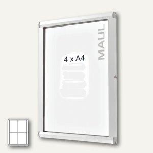MAUL Schaukasten SC3000, 4 x DIN A4, Innen-/Außenbereich, 69 x 51.4 cm, 6870408