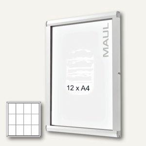 MAUL Schaukasten SC3000, 12 x DIN A4, Innen-/Außenbereich, 100 x 95.4 cm,6871208
