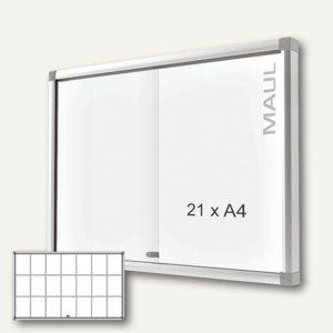 MAUL Schaukasten slide, 21 x DIN A4, Innenbereich, 98.2 x 160 cm, 6862108