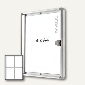 MAUL Schaukasten extraslim, 4x DIN A4, Innenbereich, 65.5 x 49.1 cm, 6820408