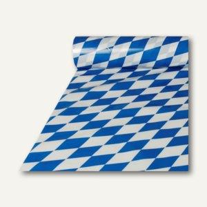 """Papstar Tischdecke aus Folie, 20 m x 1 m, """"Bayrisch Blau"""", 6 Rollen, 11197"""