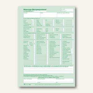 RNK Wohnungs-Übergabeprotokoll, A4, selbstdurchschreibend, 3 Blatt, 10St., 980
