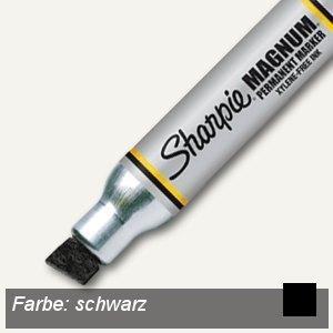 """Sharpie Permanentmarker """"Large"""" Keilspitze, bis 14.8 mm, schwarz, S0949850"""
