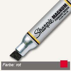 "Sharpie Permanentmarker ""Large"" Keilspitze, bis 14.8 mm, rot, S0949870"